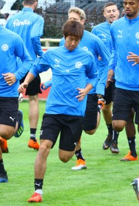20180903 Masaya Okugawa im Training am Montagvormittag 01